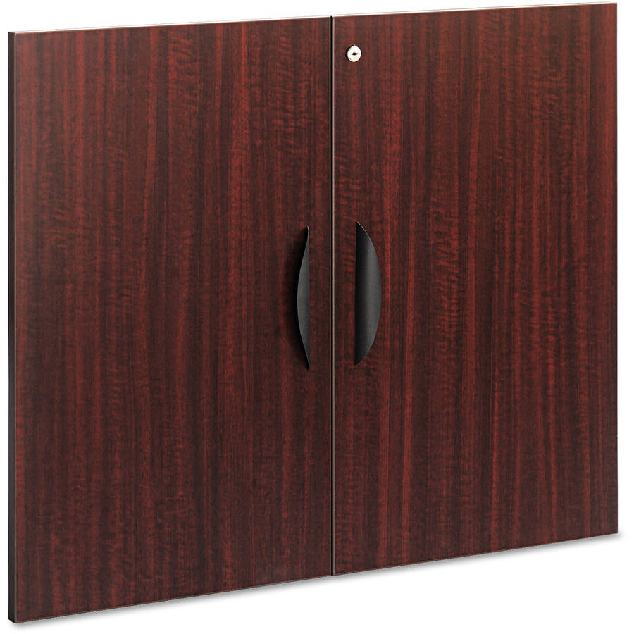 "Alera Valencia Series Cabinet Door Kit for All Bookcases, 31 1/4"" Wide, Set of 2 Doors"