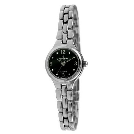 Watch Black Tone Small Link 1015bk Silver Women's Bracelet Dial m0Nnv8wO