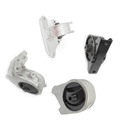 Engine Motor & Trans Mount Kit 4PCS for 2001-2005 Chrysler Sebring 3.0L Auto Trans MR272206, MN101073, MR272203, MN101072, EM5349, EM9160, EM9187,