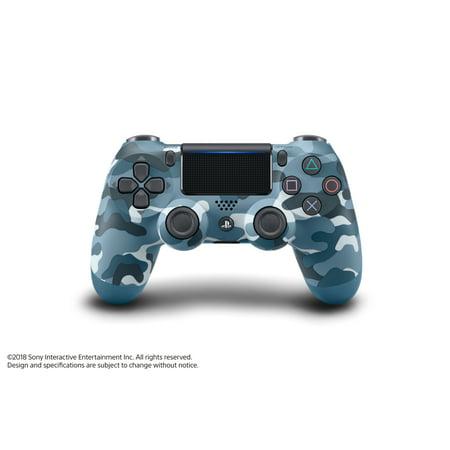 Sony PlayStation 4, DualShock 4 Controller, Blue Camo, 3003235