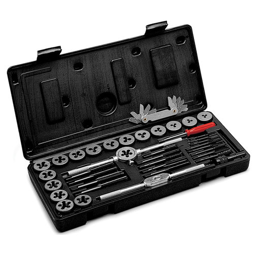 Performance Tool W4002DB 40-Piece Millimeter Tap and Die Set
