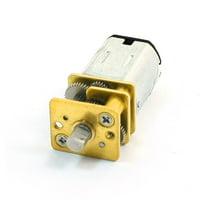 12GA DC 12V 140RPM  Gear Motor w Gearwheel for Robot Toys