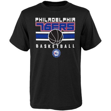 Youth Black Philadelphia 76ers Alternate (1980 Philadelphia 76ers)