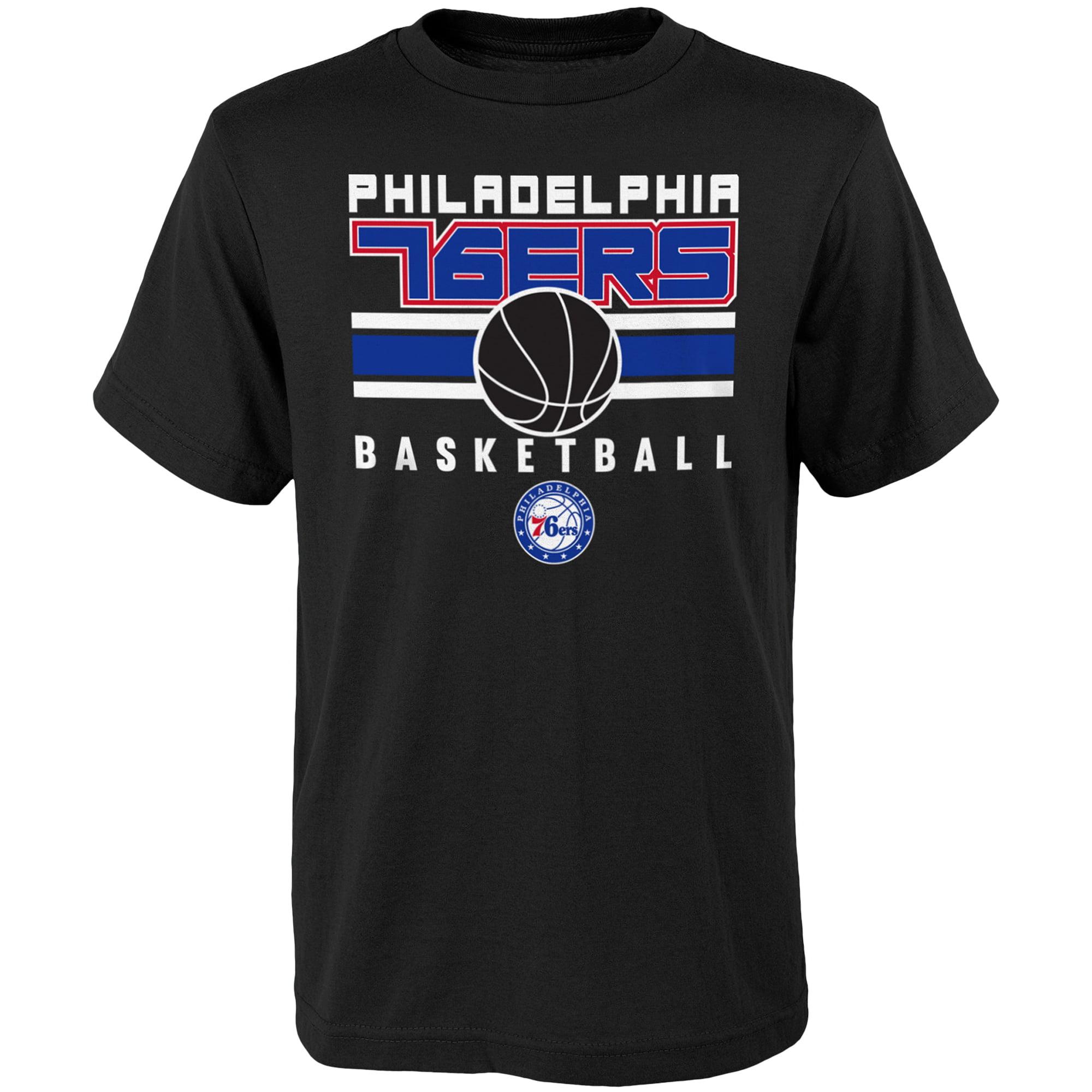 Youth Black Philadelphia 76ers Alternate T-Shirt