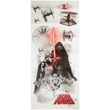 Star Wars? Peel & Stick Wall Decals 7 pc Pack