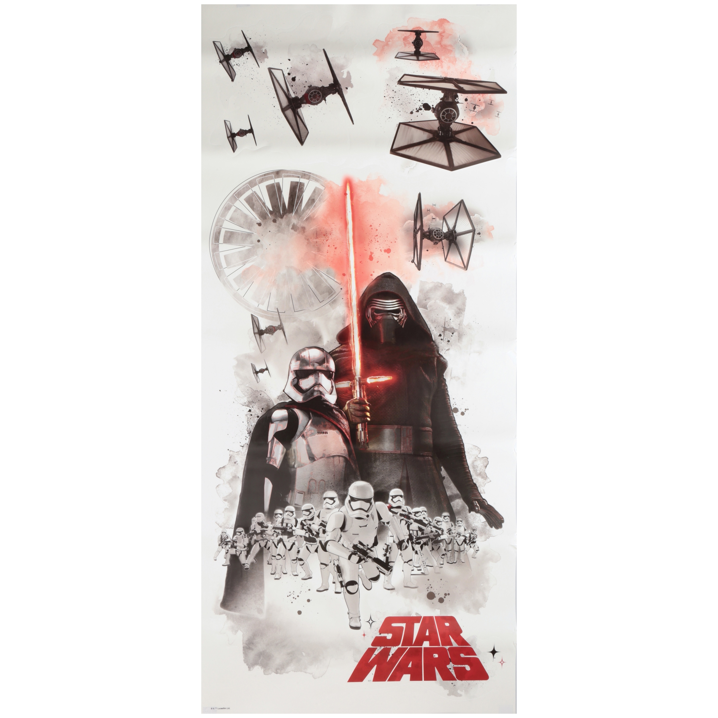 Star Wars™ Peel & Stick Wall Decals 7 pc Pack