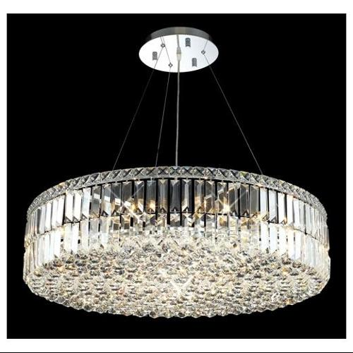 Elegant Lighting 2030D32C/RC Chandeliers Maxim