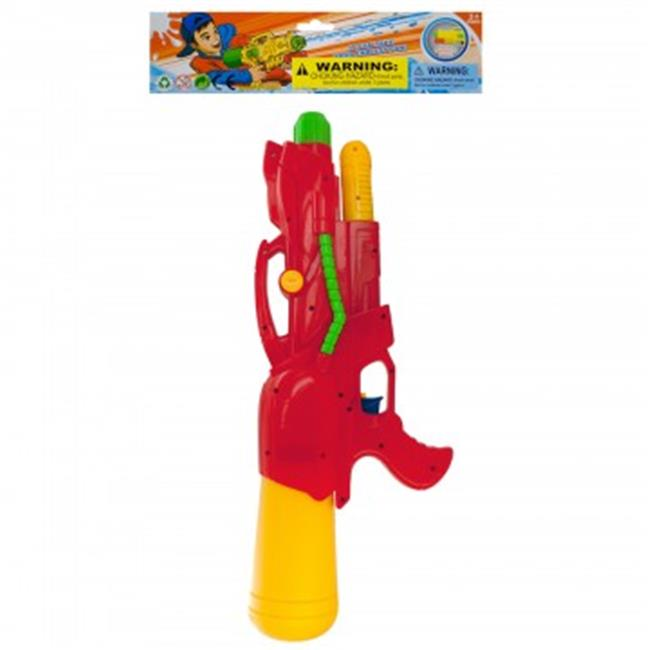 Bulk Buys OS406-16 Super Pump Action Water Gun 16 Piece by Bulk Buys