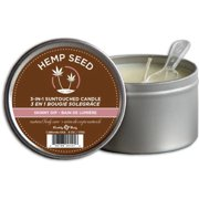 Earthly Body 3 In 1 Massage Candle - Skinny Dip, 6.0 oz.