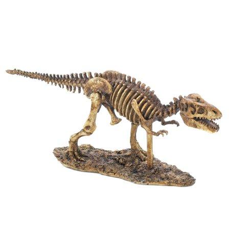 Image of Running T-Rex Skeleton Statue