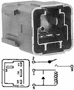 HVAC Blower Motor Relay-Aux Engine Cooling Fan Relay Standard RY-282