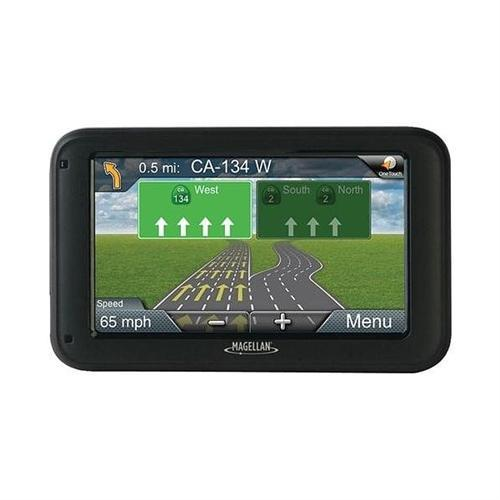 Magellan RM5255SGLUC Roadmate 5-Inch GPS Device with Free Lifetime Map and Traffic Updates