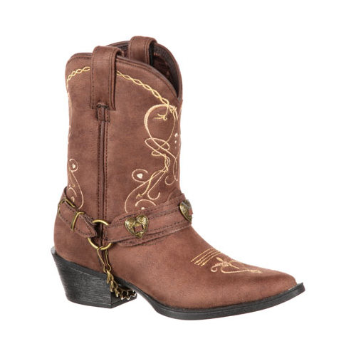 "Girls' Durango Boot DBT0136 8"" Heartfelt Lil' Crush Big Kid Boot by Durango"