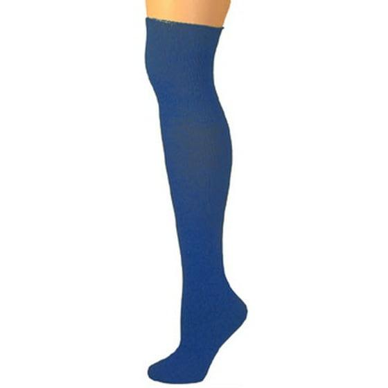 52afd025b AJs - Knee High Socks - Navy Blue - Walmart.com