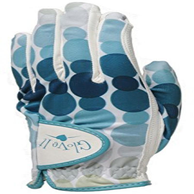 Glove It Women's Glove, Aqua Rain, Small, Left Hand