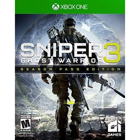 Sniper Ghost Warrior 3 Season Pass Edition, City Interactive USA, Xbox One, (The Best Sniper Games)