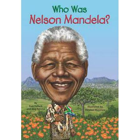 Who Was Nelson Mandela? - - Mandela Halloween