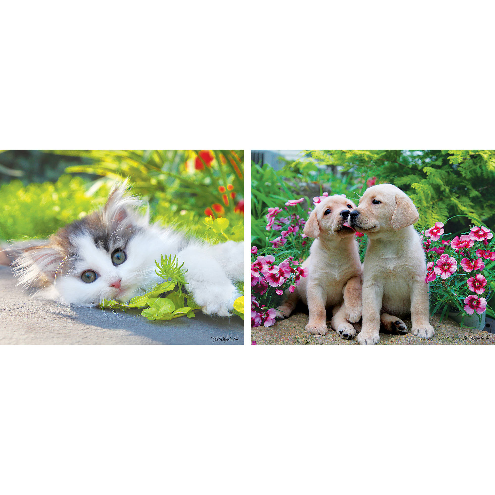 MasterPieces Cuddly Cute 2 Pack 24 Piece Puzzle