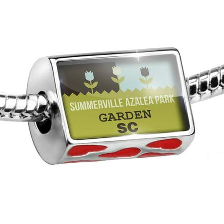 Bead US Gardens Summerville Azalea Park Garden - SC Charm Fits All European Bracelets for $<!---->