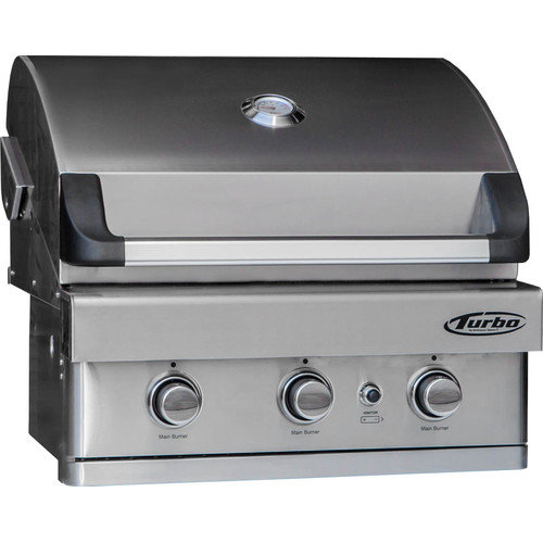 Barbeques Galore Turbo 3-burner Built-in Gas Grill