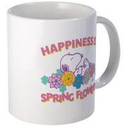 CafePress Snoopy Flowers Mug Unique Coffee Mug, Coffee Cup CafePress by