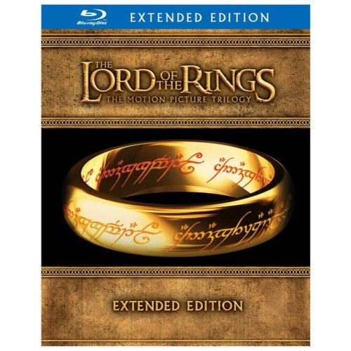 Lord Of The Rings Trilogy (Extended Editions/ Blu-ray w/ 'Hobbit' Movie Money): The Fellowship Of Ring / The Two Towers / ...