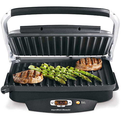 Hamilton Beach Steak Lovers 100 Sq. Inch Grill | Model# 25331