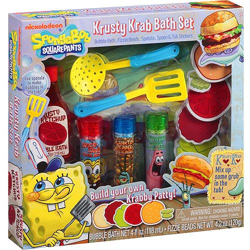 Spongebob Squarepants Krusty Krab Bath Set 12 Pc