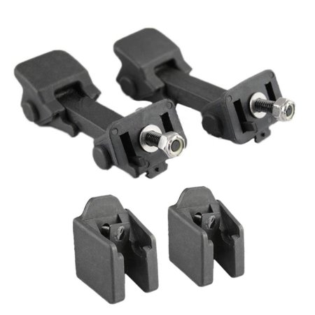 Left Right side Hood Latch Catch & Bracket Pair for Jeep Wrangler 1997 98 99 00 01 02 03 04 05 2006 (Right Hood)
