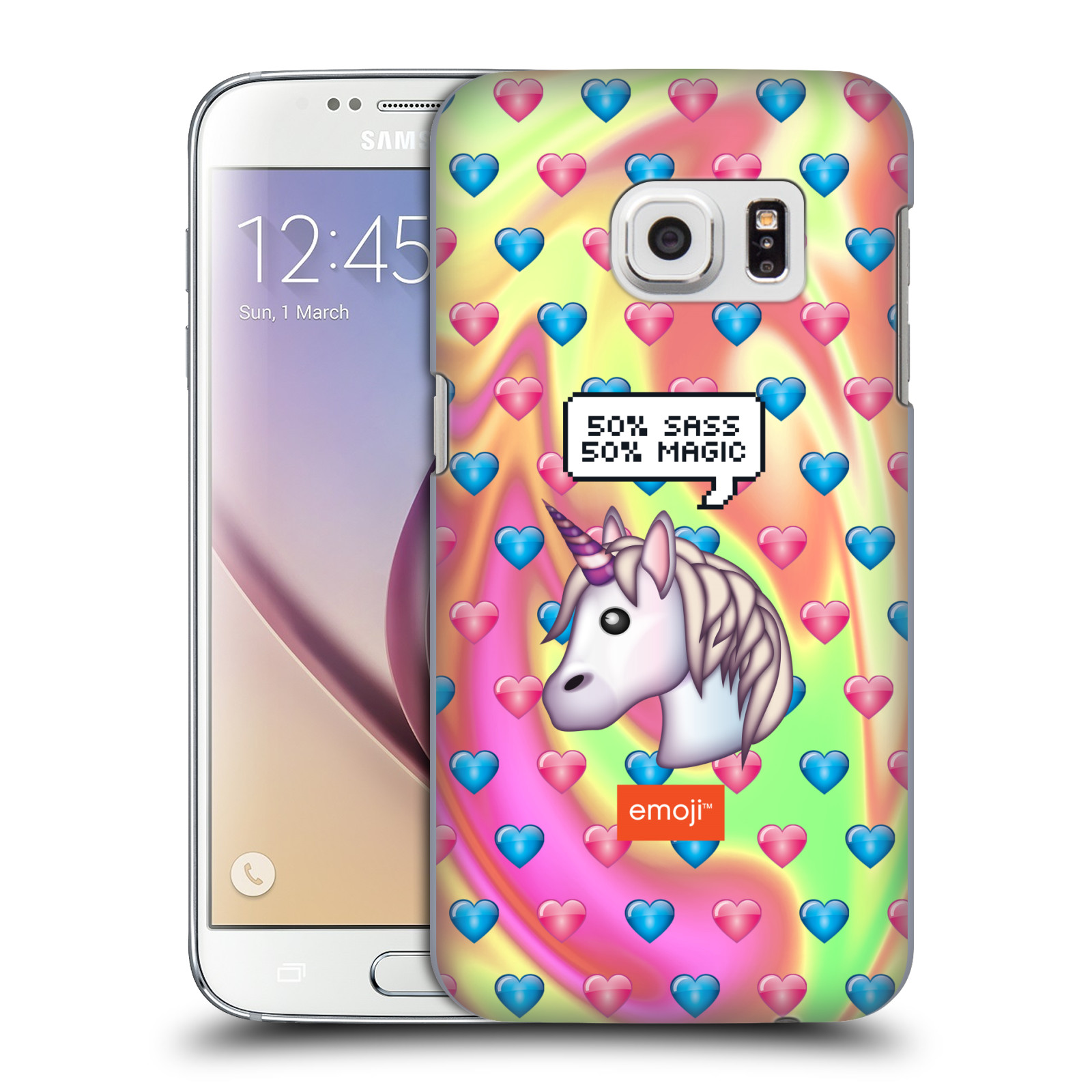 OFFICIAL EMOJI SPEECH BUBBLES HARD BACK CASE FOR SAMSUNG PHONES 1