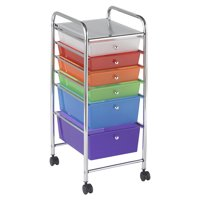 6-Drawer Mobile Organizer - Assorted