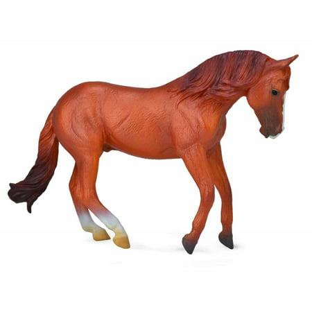 CollectA Horse Life Australian Stock Horse Stallion Chestnut -