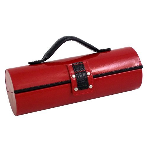 Bey Berk Black Lacquered Wooden Box Swirl Design Top