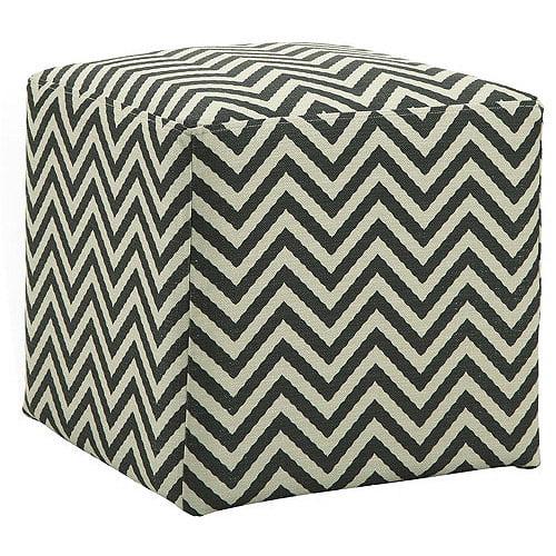 Allegro Ziggi Cube Ottoman, Multiple Colors