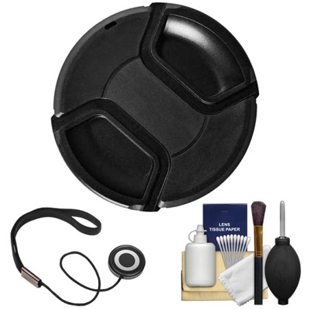 Bower 77mm Pro Series II Snap-on Front Lens Cap with Accessory Kit for Digital SLR Cameras