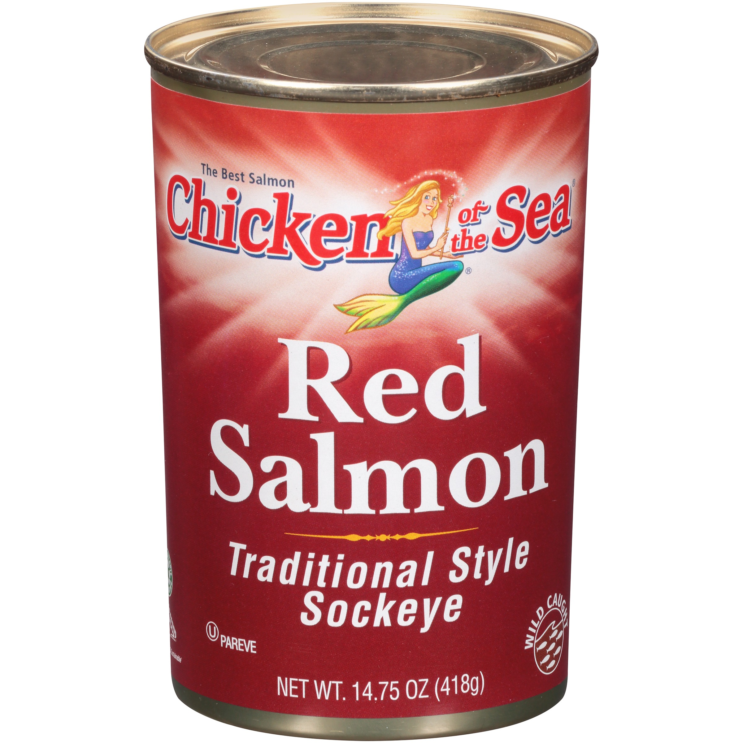 Chicken Of The Sea Red Salmon Traditional Style Sockeye, 14.75 OZ by Chicken of the Sea Intl.