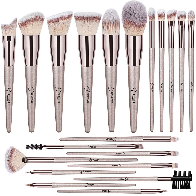 Bestope 20 Pcs Makeup Brushes Premium