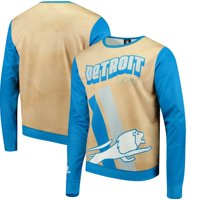 Detroit Lions Retro Sublimated Sweater - Gold
