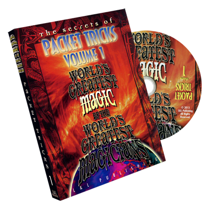 The Secrets of Packet Tricks (World's Greatest Magic) Vol. 1 - DVD