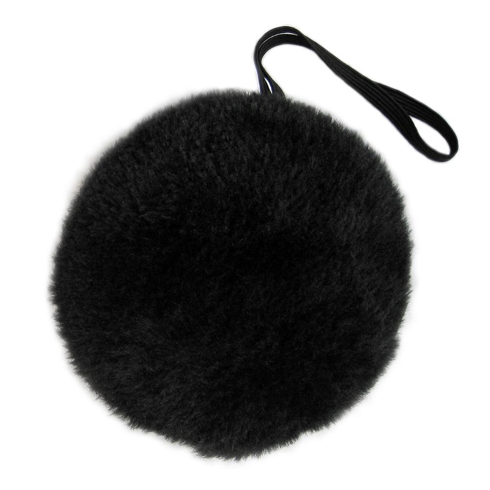 SeasonsTrading Black Plush Bunny Tail - Halloween Bear Easter Rabbit Costume Novelty