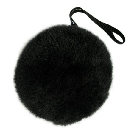 SeasonsTrading Black Plush Bunny Tail - Halloween Bear Easter Rabbit Costume - Halloween Bunnies