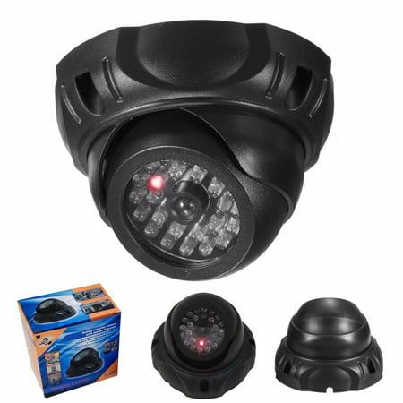 Cámara Simulación Dummy CCTV Rojo LED Flashing Vigilancia Seguridad Camera (Best Dummy Cameras)