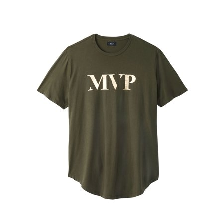 831a305dda56 Kingsize - Men's Big & Tall Curved Hem Tee By Mvp Collections ...