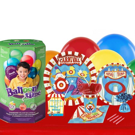 Carnival Games 16 Guest Party Pack and Helium Kit - Helium Container
