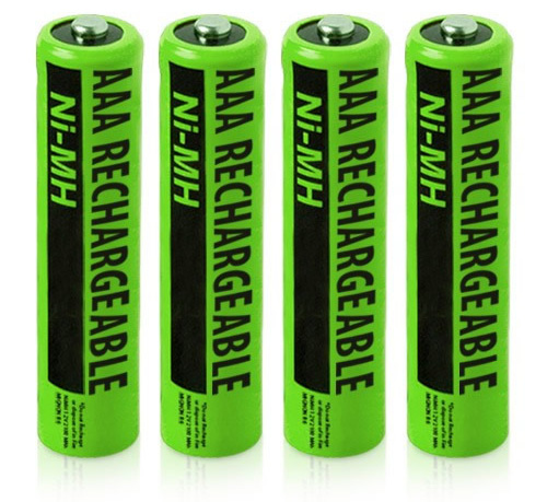 NiMH AAA 4 Pack NiMH AAA Batteries
