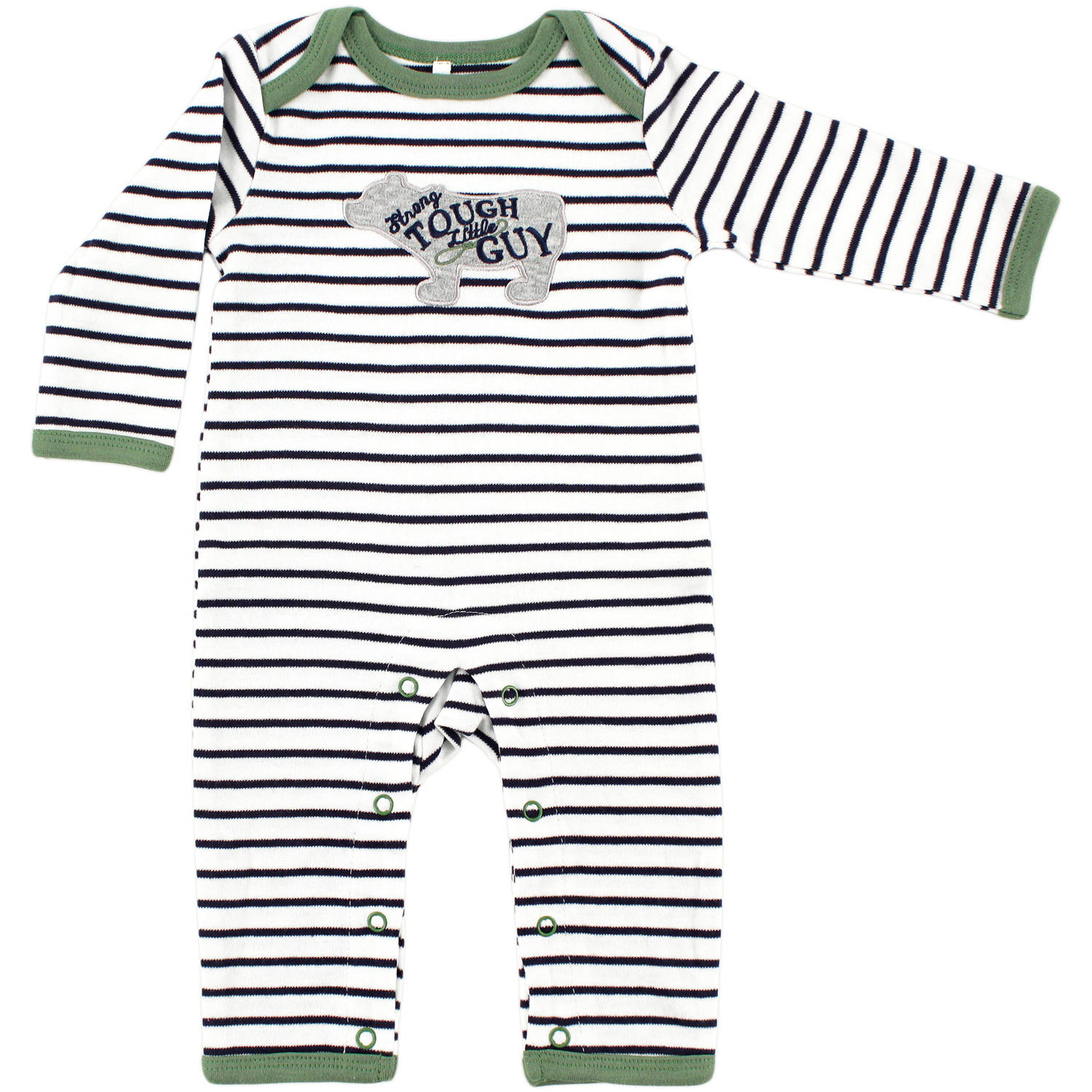 Yoga Sprout Newborn Baby Boys Union Suit - Bear