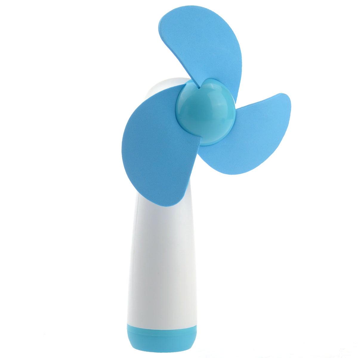 YGH365B Battery Powered Soft Foam Blades Mini Handheld Fan Cooling Fan by