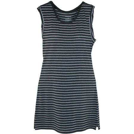 - women's striped sleep tank gown