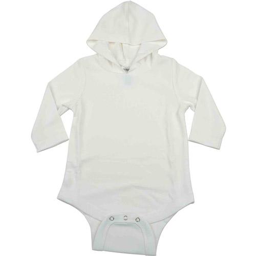 Kidz Stuff UV Sun Protectant Newborn Unisex Hooded Bodysuit