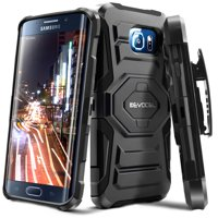 Product Image Galaxy S6 Edge Case, Evocel [Belt Clip Holster] [Kickstand] [Dual